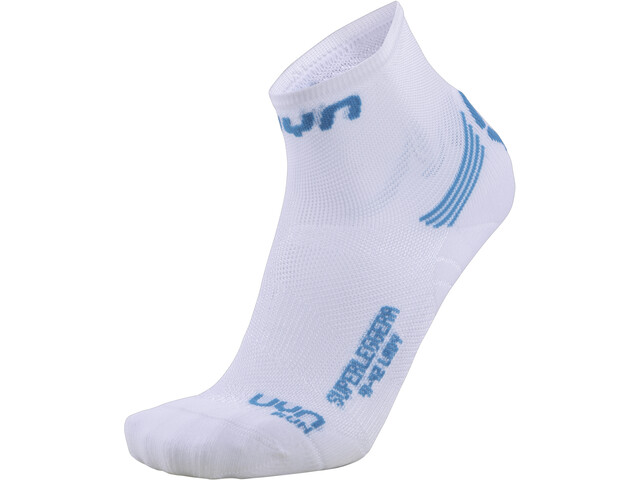 UYN Run Superleggera Sukat Naiset, white/turquoise